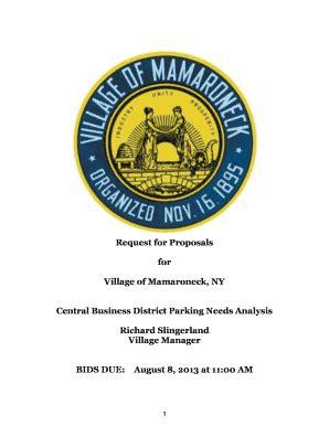 Request for Proposals: Market Research hbx